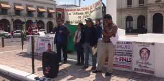 Realizan jornada contra desapariciones forzadas