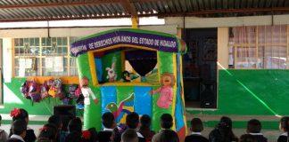 Promueve DIF derechos de la niñez con teatro