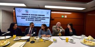 Pérez Perusquía acude a análisis de armonización legislativa de DH