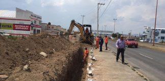 Llevan a cabo construcción de carpeta asfáltica en Actopan