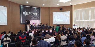 Celebran INE e IEEH mesa sobre cultura cívica