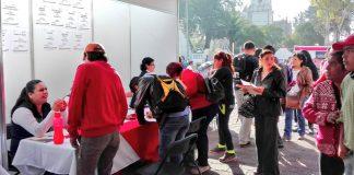 Participan 11 empresas en Microferia de Empleo en Tizayuca