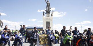 Motociclistas de Pachuca promueven el respeto vial