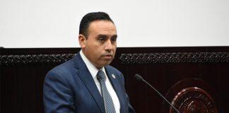 Denuncia legislador obra irregular en Huasca