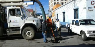 Refuerza CAAMT trabajos de limpieza y saneamiento
