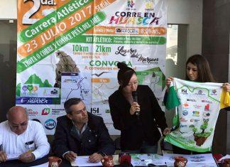 Anuncian carrera atlética en Huasca