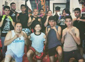 Organizan torneo de kick boxing en Polideportivo del CEAR