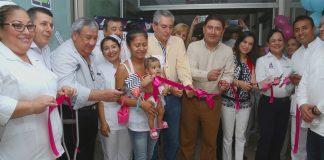 Abren lactario en Hospital Regional de la Huasteca