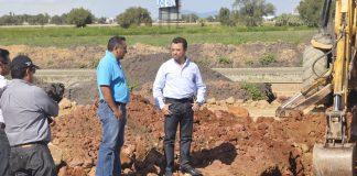 Avanza obra del Dren Pluvial San Fernando en un 70%