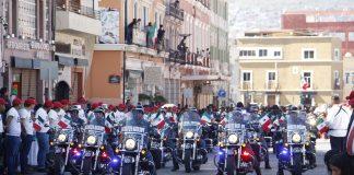 Tradicional desfile ocurrió sin incidentes