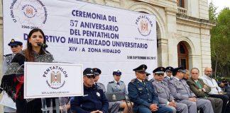Celebra 57 años el Pentatlhón Deportivo Militarizado Universitario