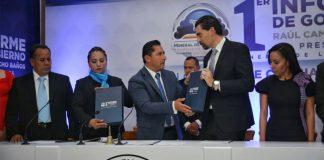 Alcalde de Mineral de la Reforma presentó primer informe