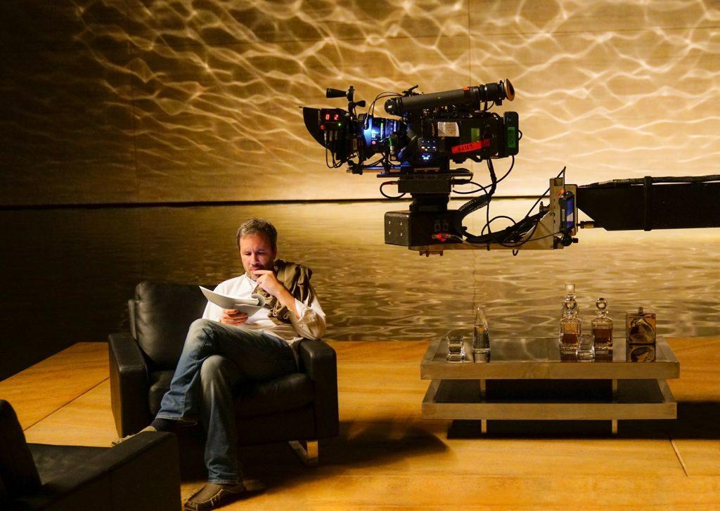 "Denis Villeneuve en set de ""Blade Runner 2049"""
