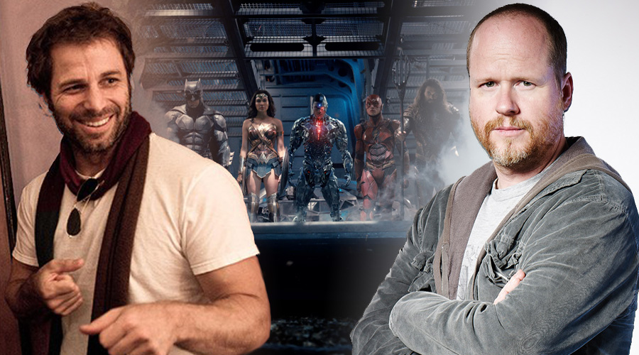 Zack Snyder y Joss Whedon