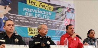 Realizarán Feria de Prevención del Delito