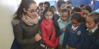 Promueven Caravana por la educación y la cultura en Tulancingo