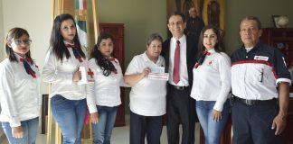 Gobierno de Tulancingo se suma a colecta Cruz Roja