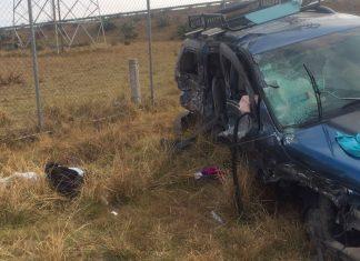 Se registra fatal accidente en la México-Tuxpan a la altura de Tulancingo