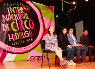 Presentan primer Festival Internacional de Circo en Hidalgo