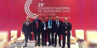Participa Colegio de Ingenieros Civiles en Congreso Nacional