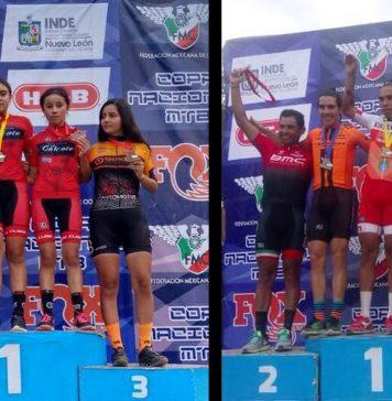 Brillan ciclistas hidalguenses en tercera fecha del MTB 2018