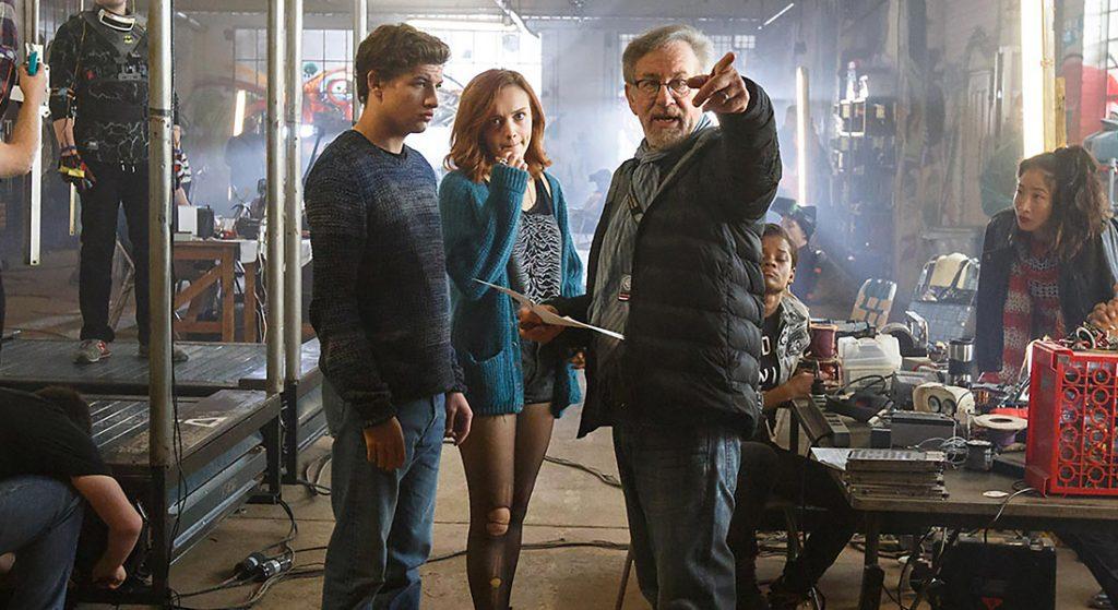 """Steven Spielberg en set de """"Ready Player One"""""""