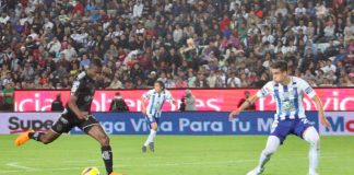 Los Tuzos del Pachuca cae ante los Rayados
