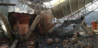 Explosión dentro de una empresa en la Zona Industrial de Tizayuca