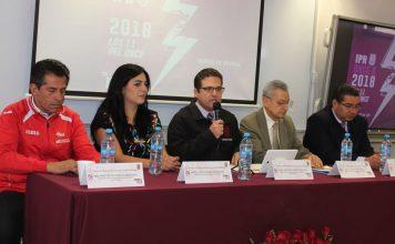 "Presentan carrera IPN Once K 2018 ""Los 11 del Once"""