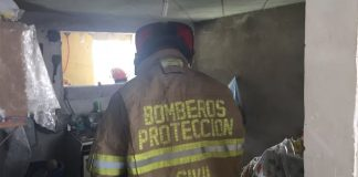Por explosión de pirotecnia, inhabilitan vivienda en Nopalcalco