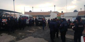 Aun no logran acuerdo con policías de Mineral de la Reforma