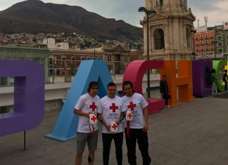Participan Tuzos en colecta anual de Cruz Roja