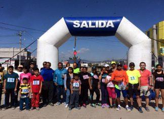 Realizan la tercera edición de la carrera San Alfonso