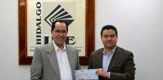 Entrega el IEEH a Citnova dinero recaudado por multas a partido