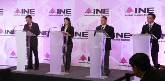 Celebra INE primer debate entre candidatos al Senado