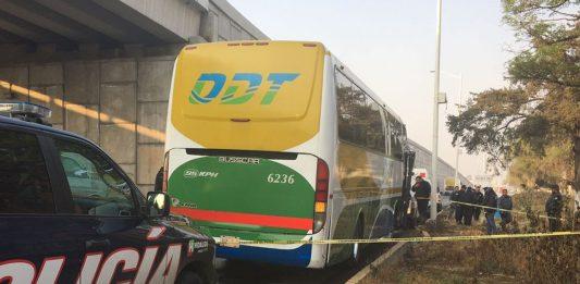 Asaltan camión de pasajeros de Acayuca
