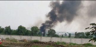 Tras derrame de huachicol en Tlahuelilpan, se produce incendio
