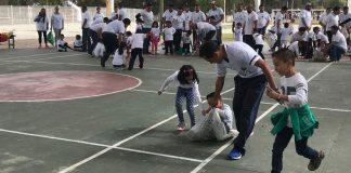 CAIC Juárez festejó el día del padre con un rally