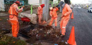 Lluvias obligan a Sopot atender incidencias viales