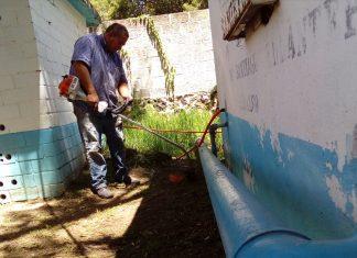 CAASST da mantenimiento a infraestructura de pozos