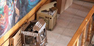 Levantan acta administrativa por trifulca en casilla especial