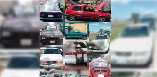 Recupera Correcaminos de la SSPH 75 autos robados
