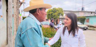 Agradece Darina Márquez el apoyo de la población