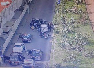 Detienen en Pachuca a dos sujetos por alterar el orden público