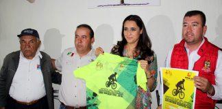 Maratón MTB llega a Santiago Tulantepec