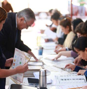 En paz, elecciones en municipios de la entidad