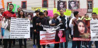 Exigen resultados sobre la desaparición d Olayet Cabrera