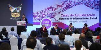 Inaugura en Pachuca curso de actualización en sistemas de salud