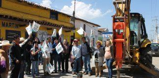 Alcalde promete 31 obras en Singuilucan