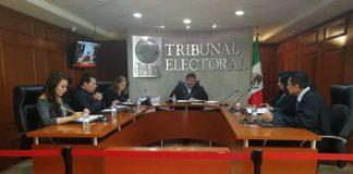 Sanciona públicamente el TEEH a partidos y candidatos del Frente